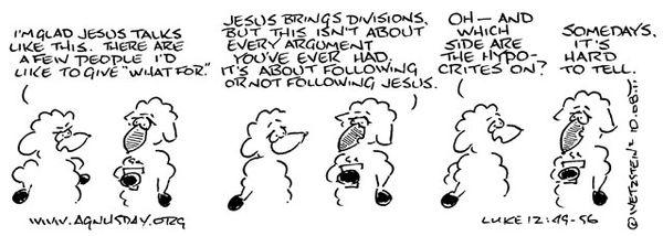 Luke 12:49-56 - Holy Textures