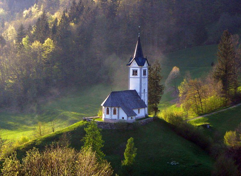 Isolated-Church