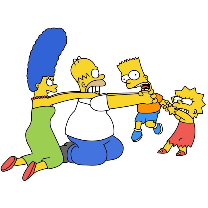 Year-C-Pentecost-Proper-15-Simpsons-Family-Fight-Square